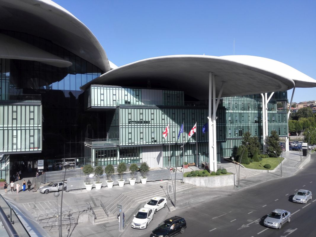 Hochmodernes Verwaltungszentrum in Tiflis